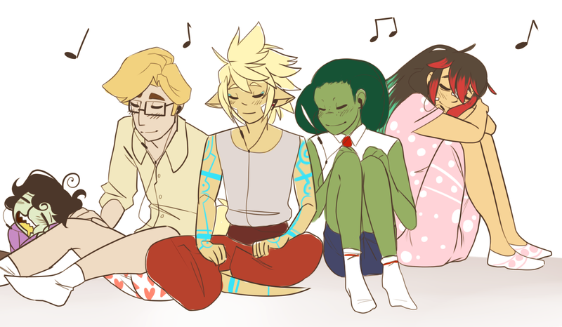 Sleepy Chill Music Kiddos by kadoge