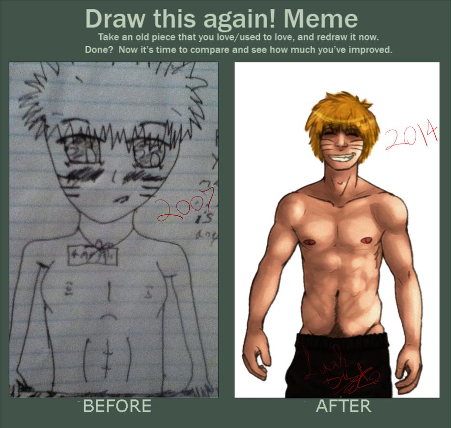 Naruto Redo Meme by Lukahhhhhhhh