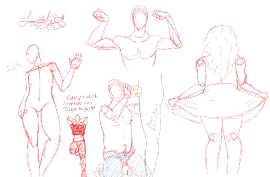 Drawpile Sketch Dump two by Lukahhhhhhhh