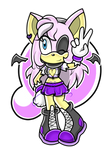 SA style : Julia The bat and speedpaint by Huatay