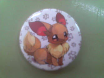 eevee button by Huatay