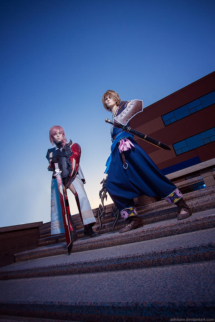 FFXIII - Lightning and Noel by Jugoria