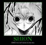 Shion demotivational