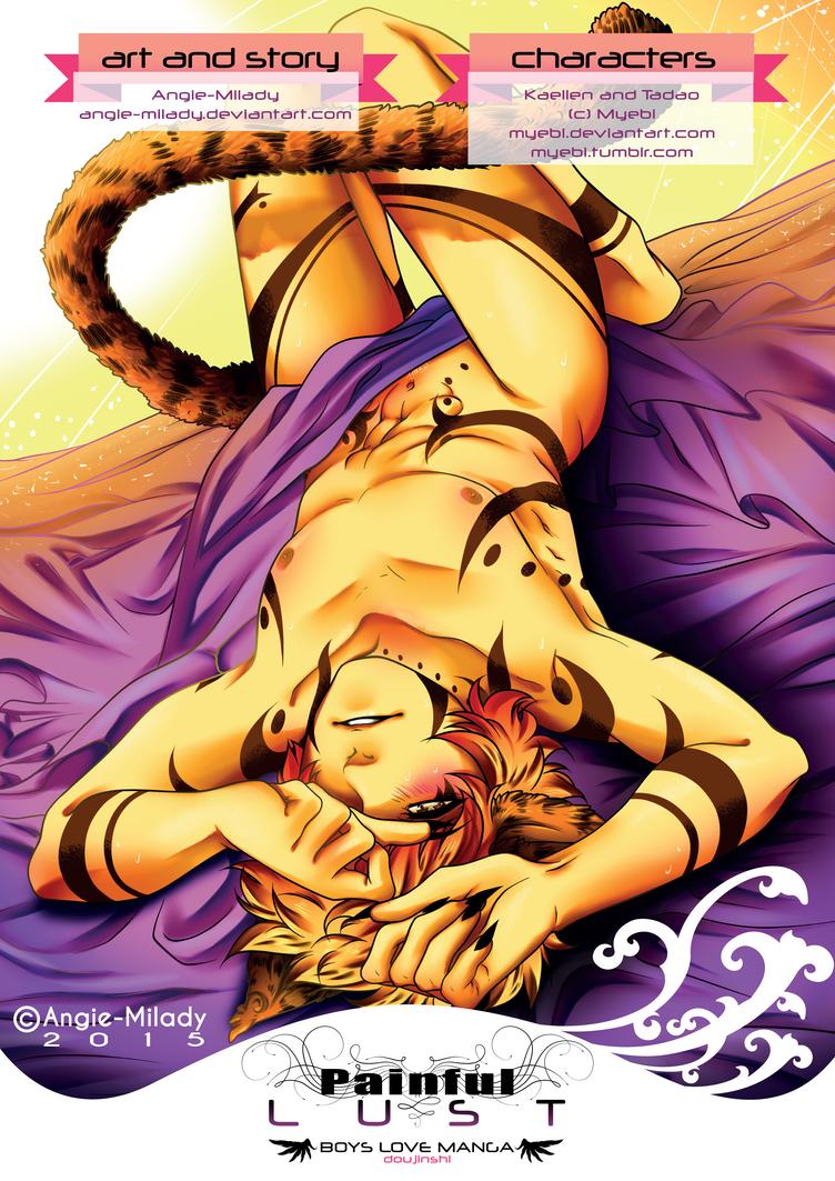 COVER PAGE - P a i n f u l  L u s t by Angie-Milady