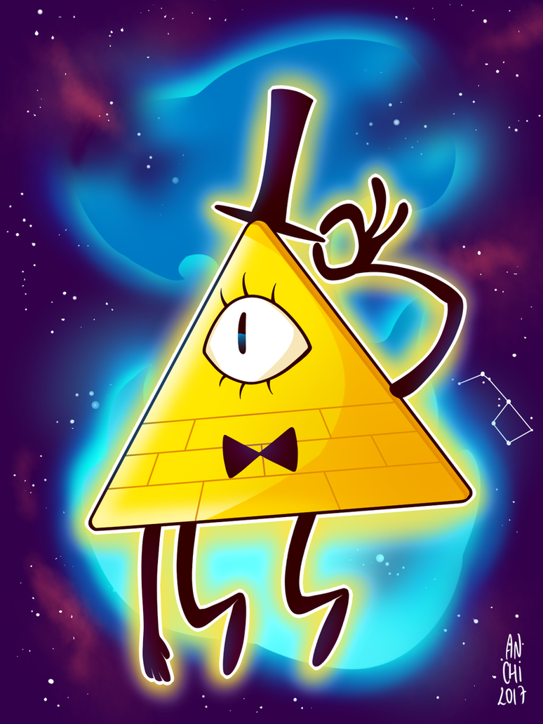 gravity falls bill cipher by anael anchi on deviantart