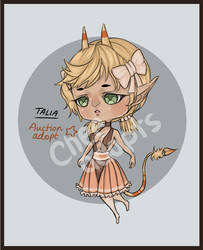 OPEN! Talia- Auction Adoptable by TaiyouChee
