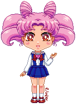 Just Chibiusa by Wintercel