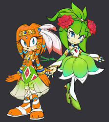 Tikal and Cosmo