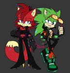 Fiona and Scourge