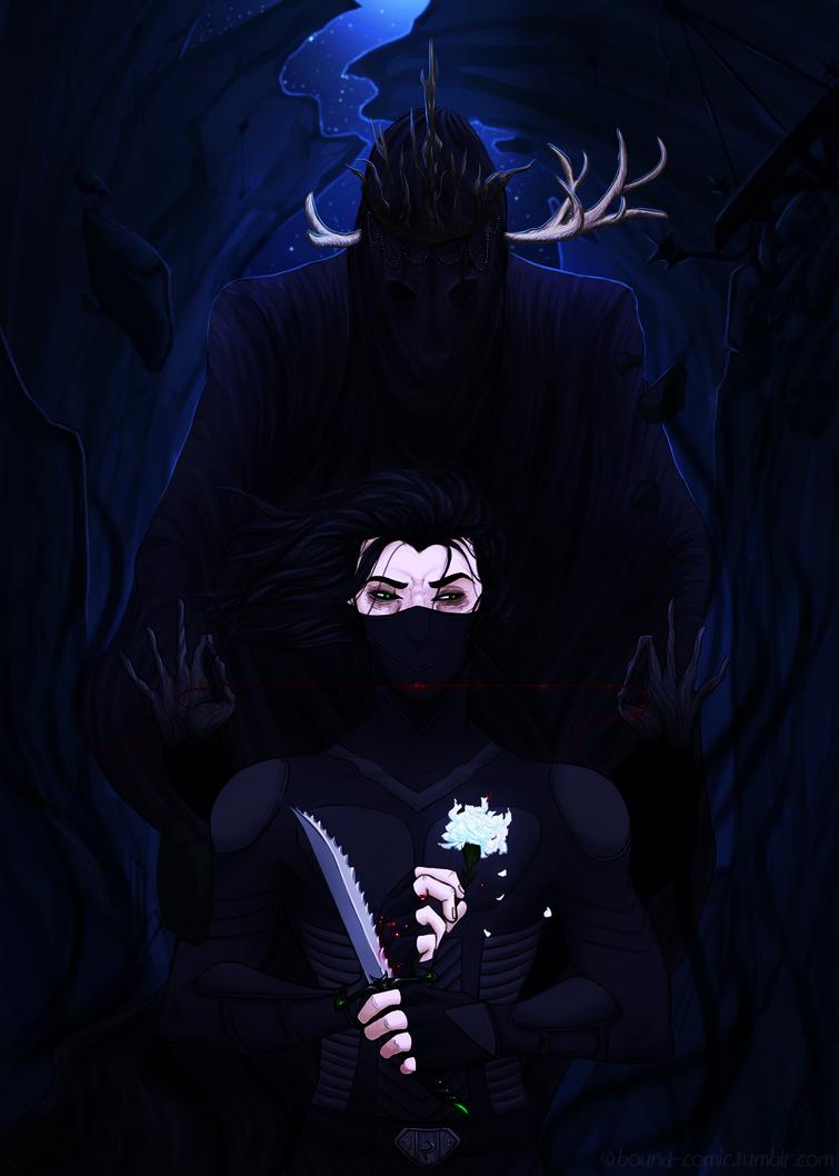 Bound - Alan, Death's Favoured Child by YukiSamui