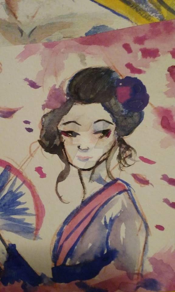 Geisha by Wolfeternity