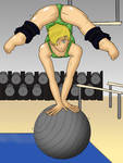 Hannah's Balance Practice