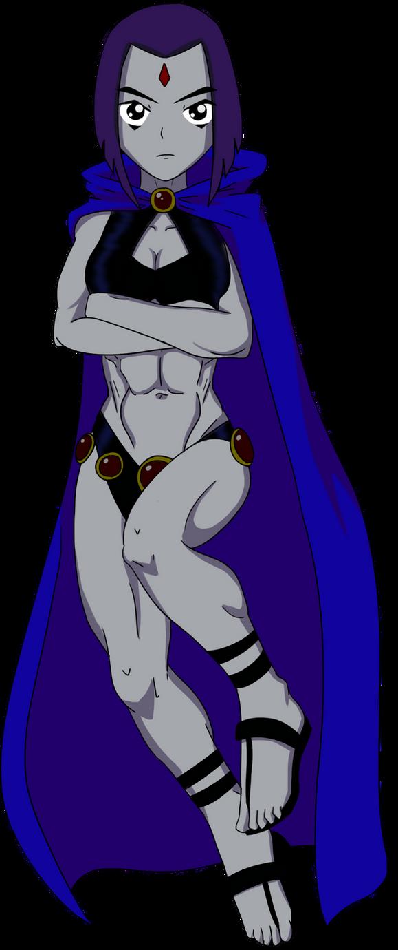 Raven Off Of Teen Titans 24