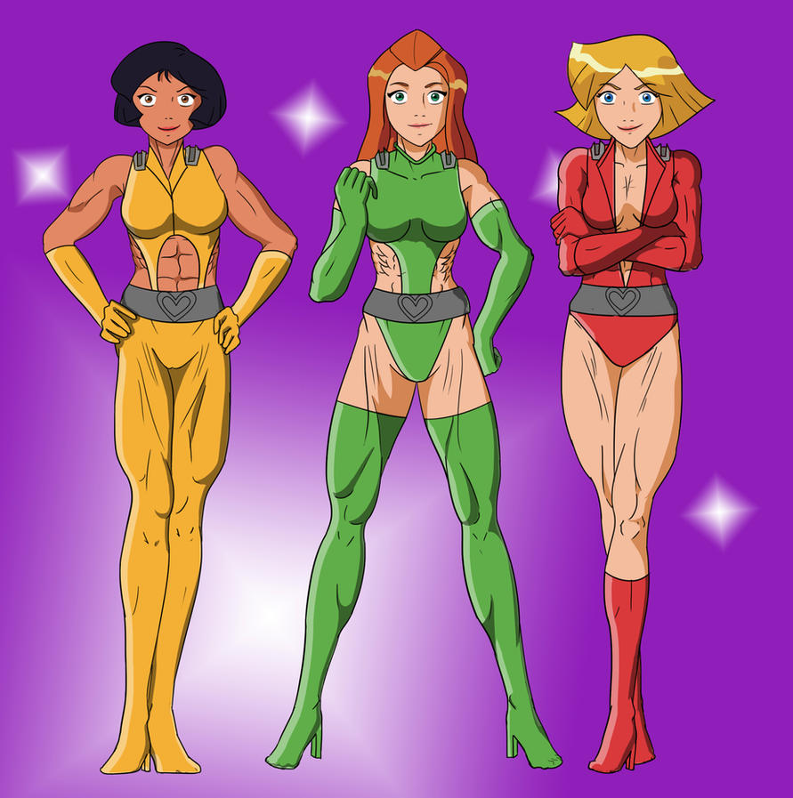 Totally Spies Sexy 107