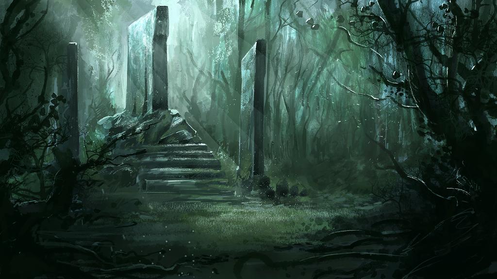 ForestShrine by ricardotlima