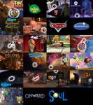 Disney Pixar Complilation: Luxo Ball