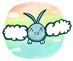 Swablu by PokeMonandFootball