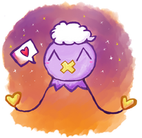 Happy Drifloon Is Happy by PokeMonandFootball