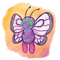 Shiny Butterfree by PokeMonandFootball