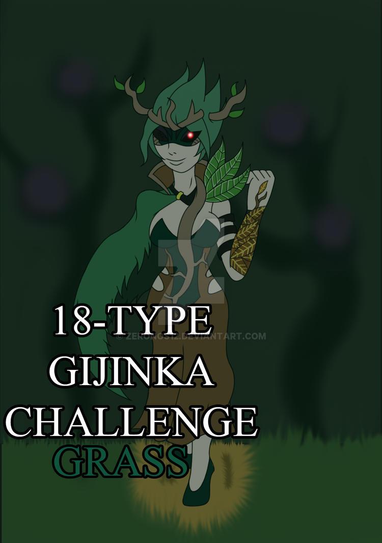 18-Type Gijinka Challenge: Grass by Zeronos12