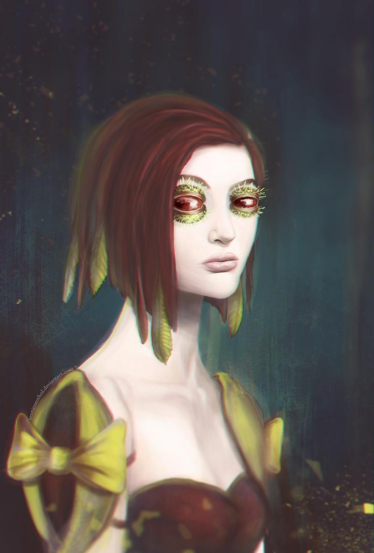 Chestnut girl by Sentimenthol
