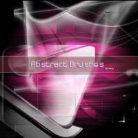 Abstract brushes by Flina-Stock