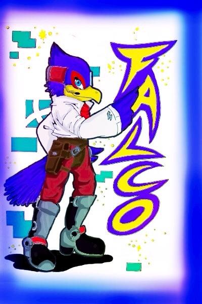 Falco ssbb by cosmicgirl95Falco Ssbb Drawings