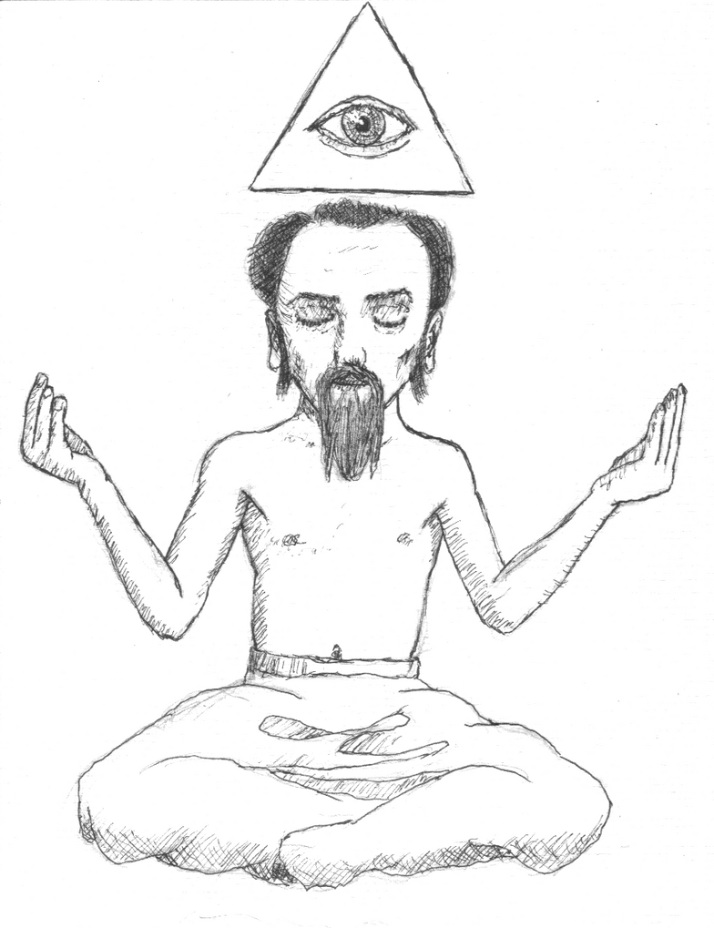 Bibi en meditation by cavalTaureau