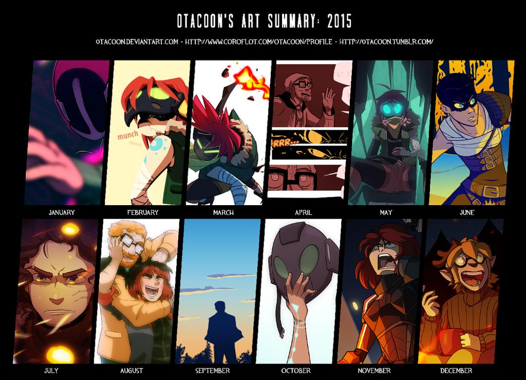 Art Summary 2015 by 0tacoon