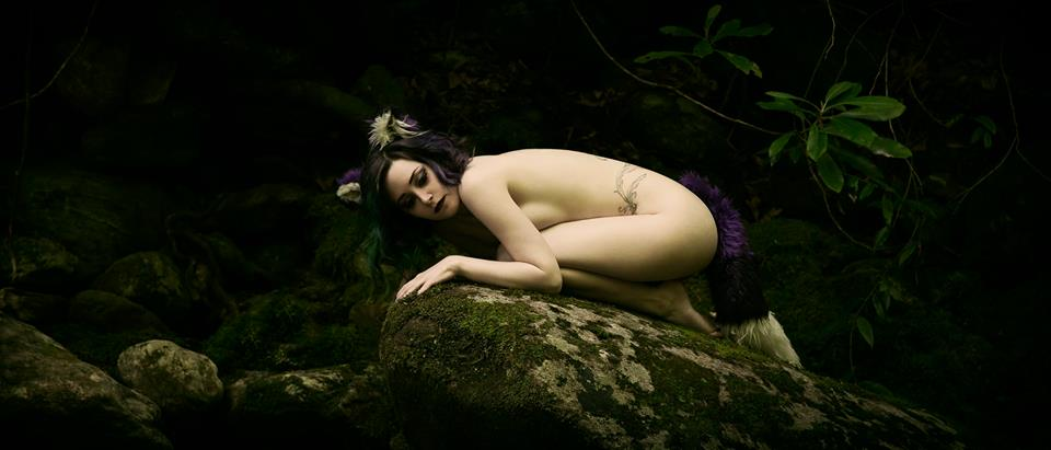Purple Fox by Tristin-Vitriol
