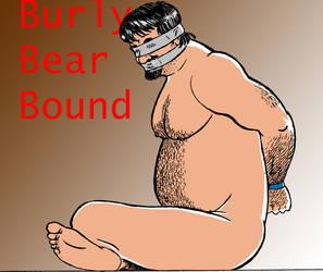 Bound Blindfolded Bear by Jeryn75
