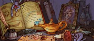 Second Kalandar - Wizard Desk