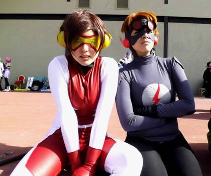 Kid Flash and Impulse