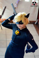Chat Noir -Miraculous LadyBug by Elliot-Baskerville