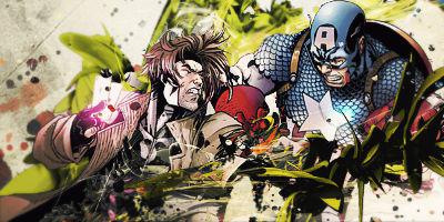 Gambit vs Captain America