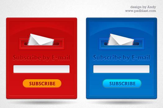 Subscription form design