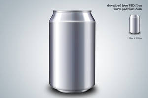 Energy Drink Can PSD Template by psdblast