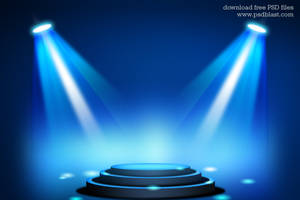 Stage Lighting Background with Spot Light Effects by psdblast