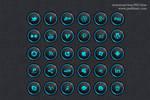 30 Free Social Media Icon Set