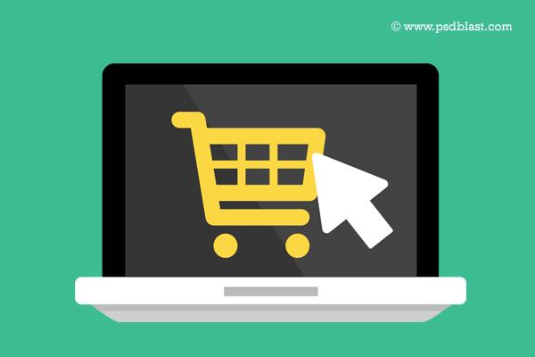 Buy Online Icon PSD by psdblast