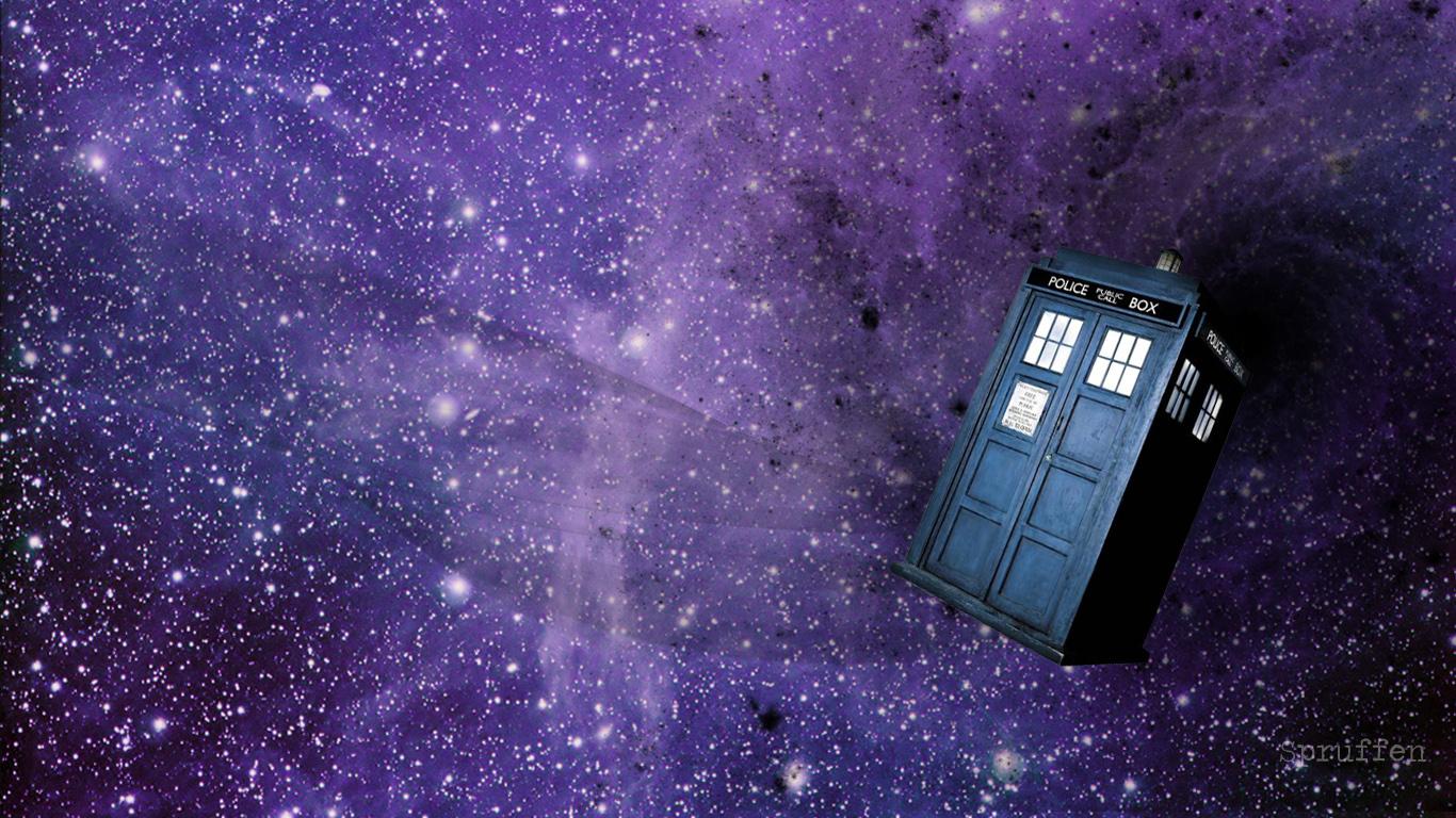 TARDIS Wallpaper By Spruffen On DeviantArt