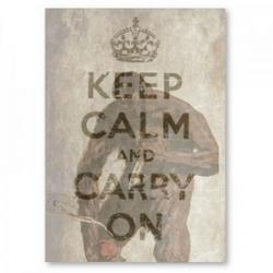 Keep Calm and Car- OMG ITSAMONSTER by Jahnuu