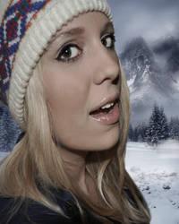 The Girl In The Ski Hat by Jahnuu