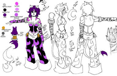 Gothgirl Model Sheet vs. 1