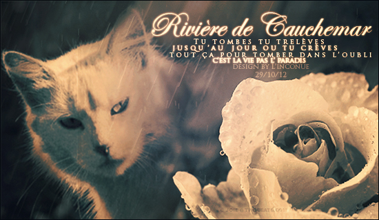 Riviere de Cauchemar by InconnueSecrete