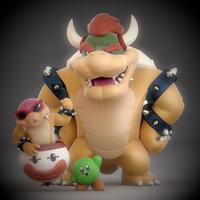 My Smash 4 Mains!! by SmashingRenders