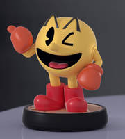 Pac-Man Amiibo! by SmashingRenders