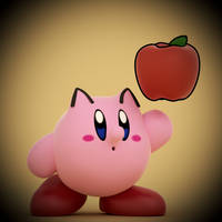 Pac-Kirby! by SmashingRenders