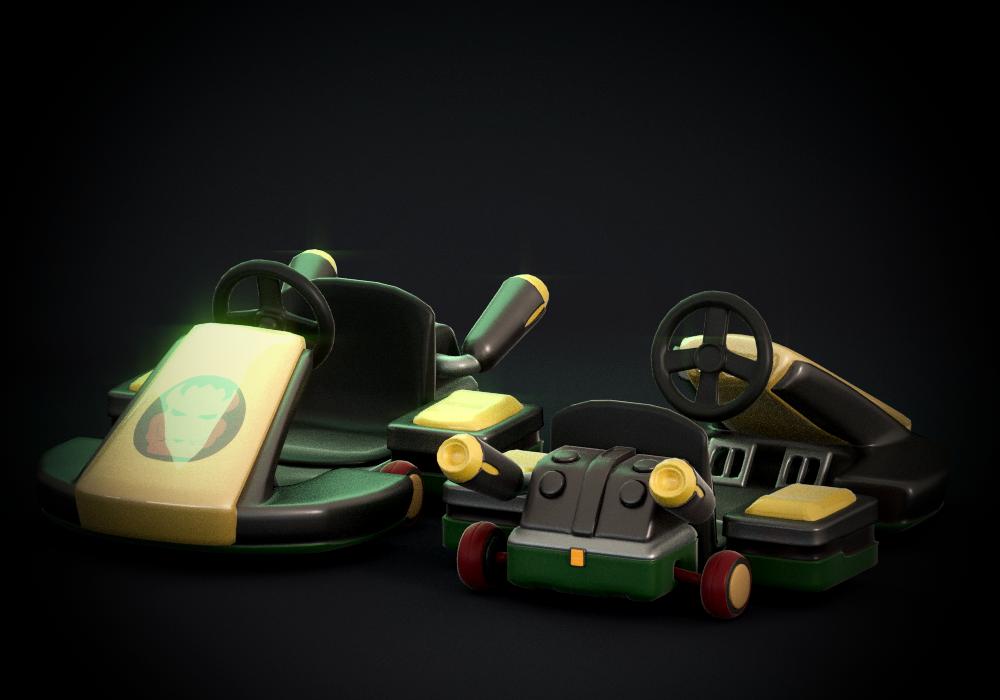Mario Kart 8: Standard Kart by SmashingRenders on DeviantArt