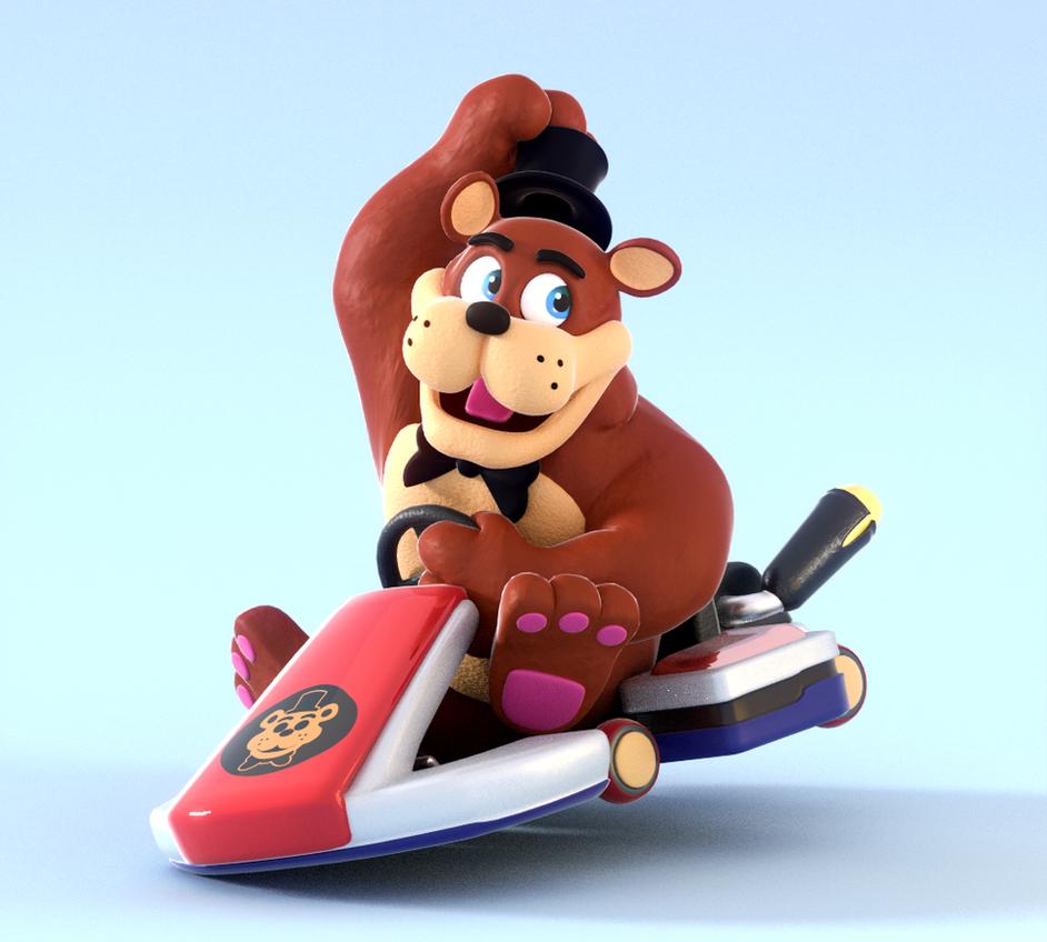 Freddy's Ready To Kart! by SmashingRenders